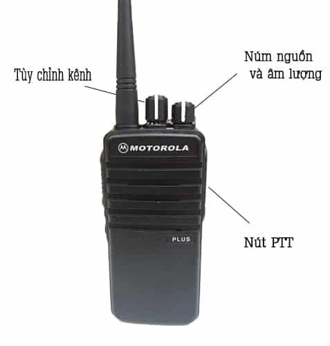 Hướng dẫn sử dụng máy bộ đàm Motorola