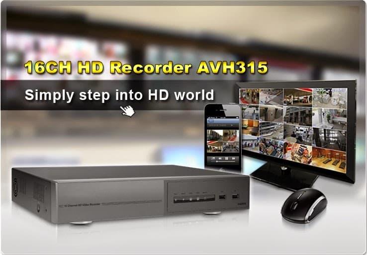 Đầu Ghi hình camera IP Avtech AVH315