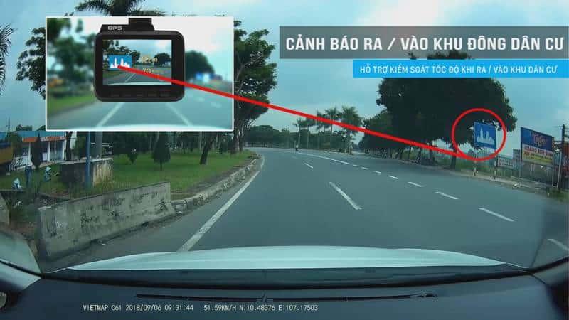 Camera hành trình ô tô Vietmap