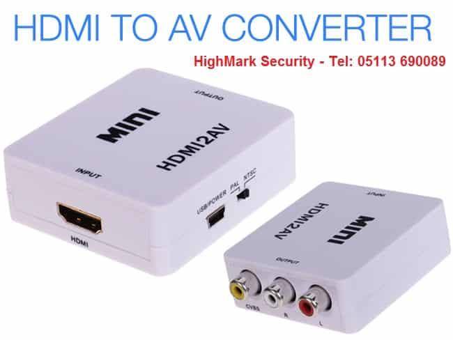Bộ chuyển đổi tín hiệu camera từ HDMI sang AV