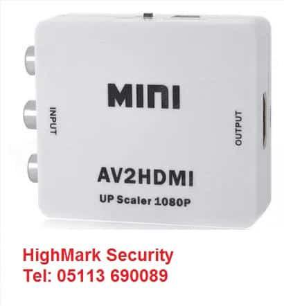 Bộ chuyển đổi tín hiệu camera từ AV sang HDMI