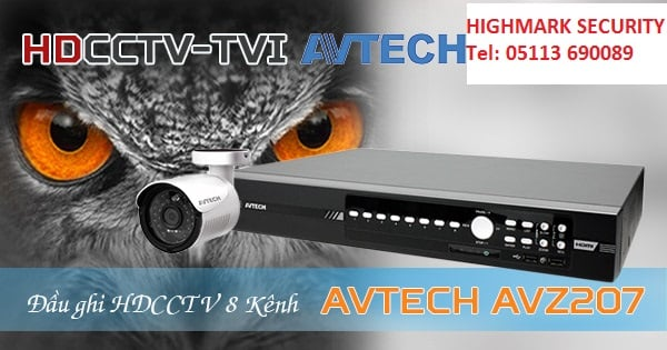 dau ghi camera avtech avz207-1