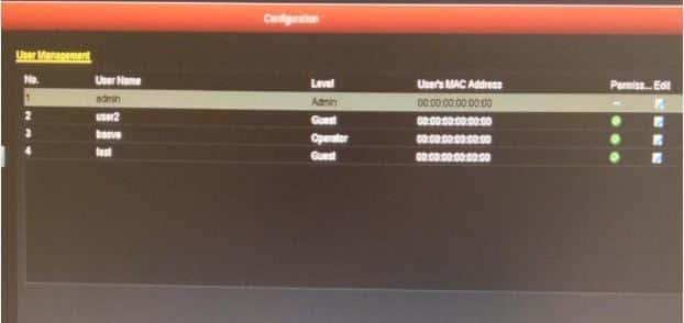 Đổi mật khẩu đầu ghi Hikvison và camera IP Hikvision trên màn hình Tivi6-min