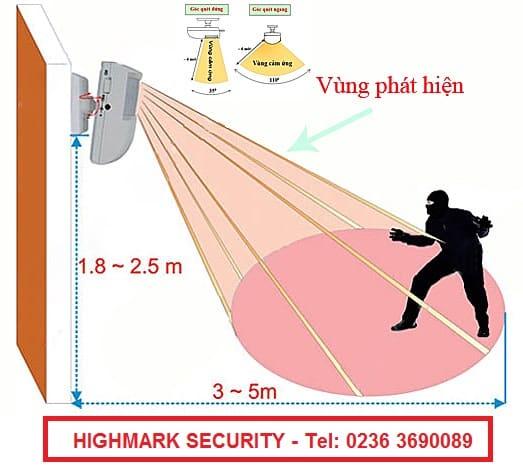 Hệ thống báo động chống trộm bằng hồng ngoại