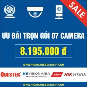Lắp đặt trọn gói 07 camera giá rẻ Camera Đà Nẵng