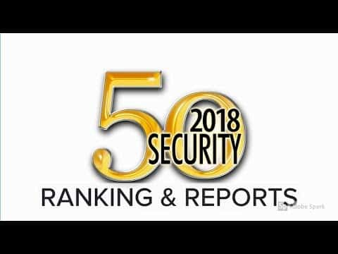 Security 50 Ranking for 2018