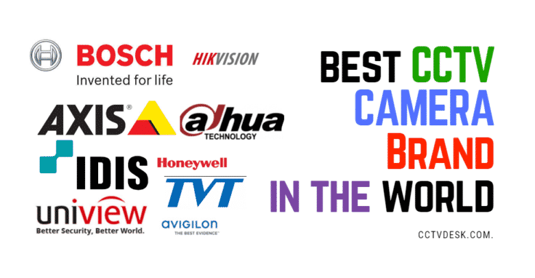 Top 10 CCTV Camera Brands Ranking 2018 [2019 update]