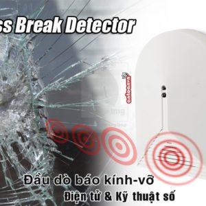 Đầu dò kính vỡ không dây Paradox BP-10W chống trộm đột nhập