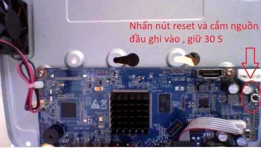Hướng dẫn khôi phục (reset) phần cứng trên đầu ghi thế hệ D6
