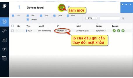 Hướng dẫn reset, đổi mật khẩu camera IP Kbvision2