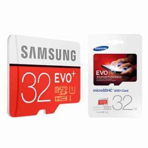 Thẻ nhớ 32GB Samsung Evo Plus MicroSD dành cho camera IP
