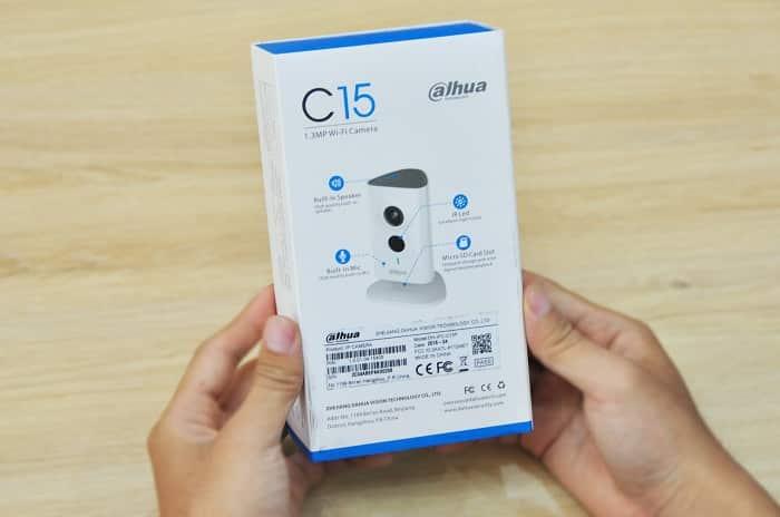 Bán camera Dahua IP Wifi C15P tại Đà Nẵng, camera IP wifi không dây