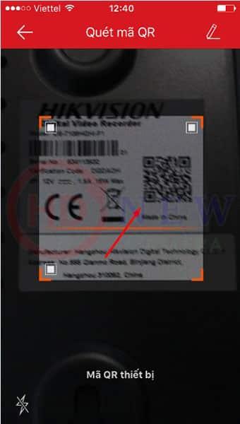 Cách cài đặt camera Hikvision xem qua điện thoại14