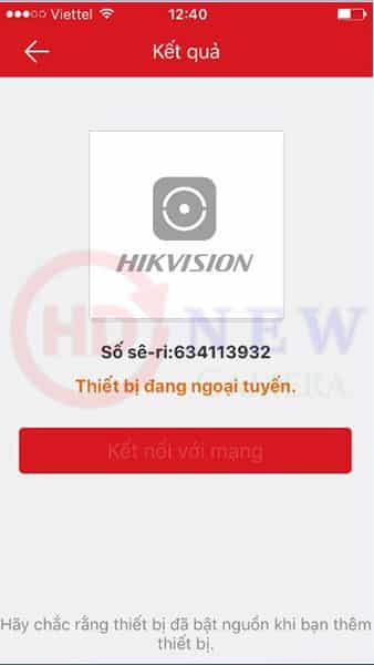 Cách cài đặt camera Hikvision xem qua điện thoại16