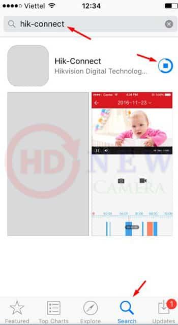 Cách cài đặt camera Hikvision xem qua điện thoại2