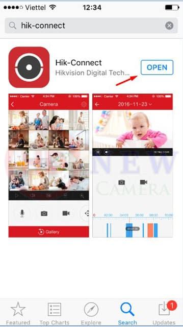 Cách cài đặt camera Hikvision xem qua điện thoại3