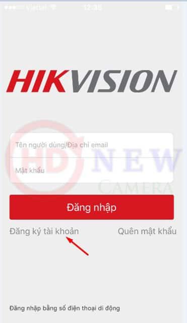 Cách cài đặt camera Hikvision xem qua điện thoại4