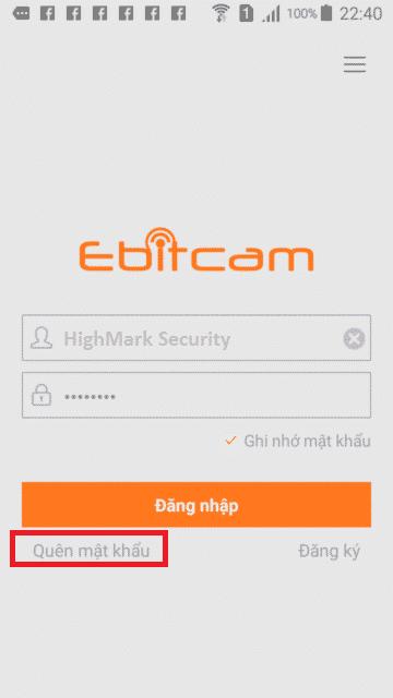 Cách lấy lại mật khẩu camera Ebitcam đơn giản khi quên mật khẩu