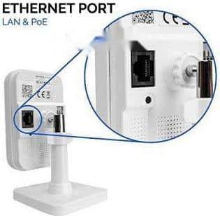 Cổng mạng LAN camera Ip Hikvision