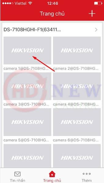 Xem camera Hikvision từ xa bằng phần mềm Hik-Connect P2P