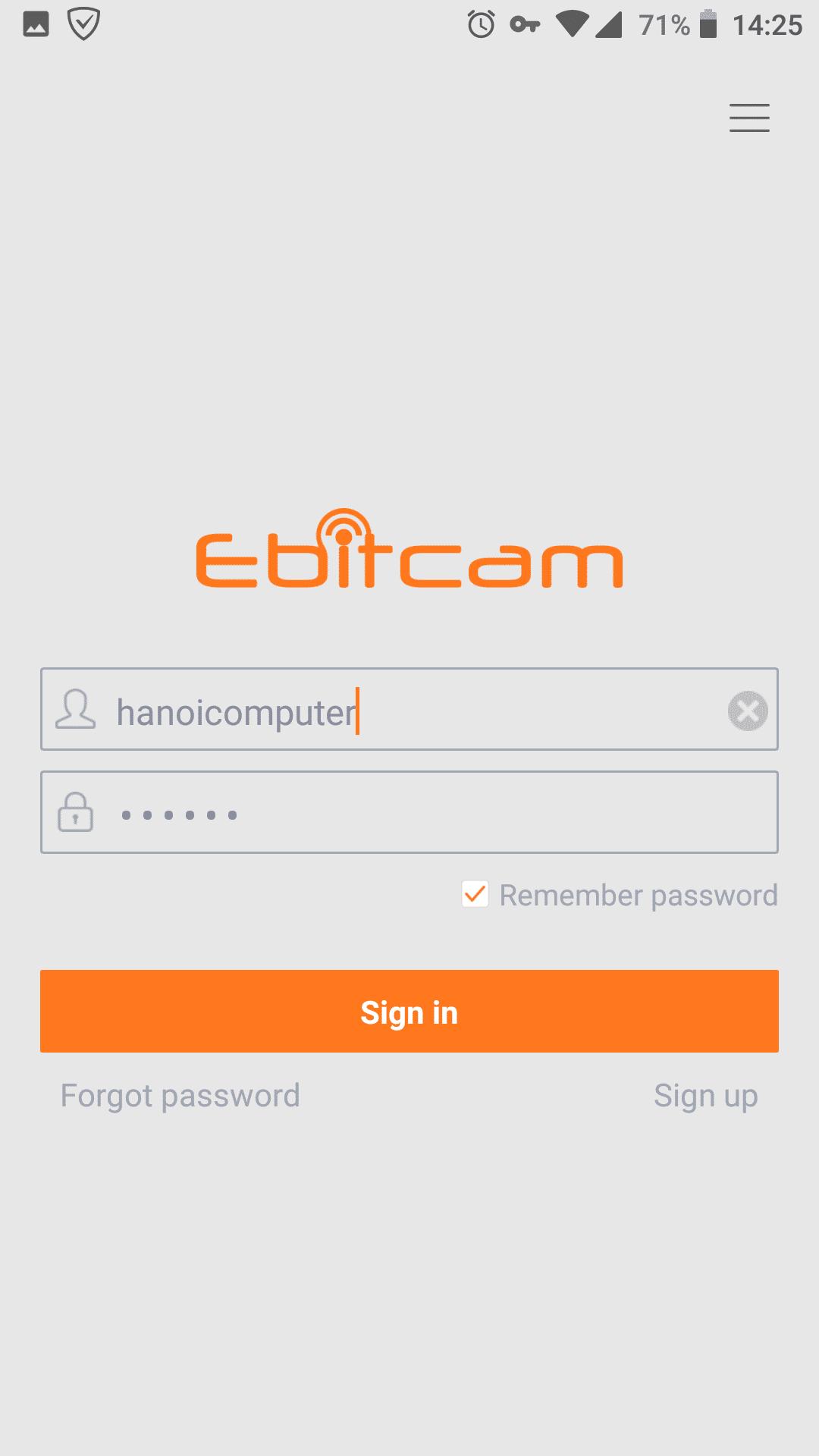 Hướng dẫn cài đặt camera Ebitcam trên điện thoại3-2-min