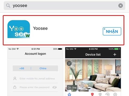 Hướng dẫn cài đặt camera Yoosee trên điện thoại-min