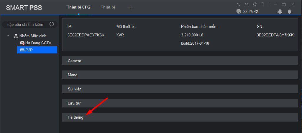 3 cách đổi mật khẩu camera Dahua, Camera IP đầu ghi hình
