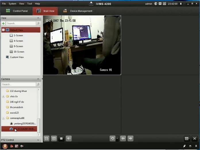 Hoàn tất cài đặt camera ip hikvision trên máy tính