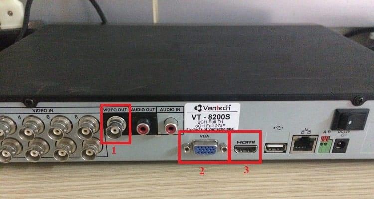 Cách kết nối tivi với đầu ghi hình camera-min