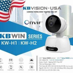 Camera IP Wifi không dây KBVISION KW-H1 thương hiệu USA-min