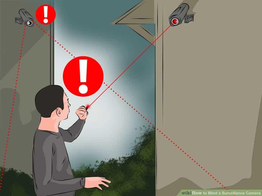 Cách vô hiệu hóa camera an ninh quan sát bằng đèn laze 2-min