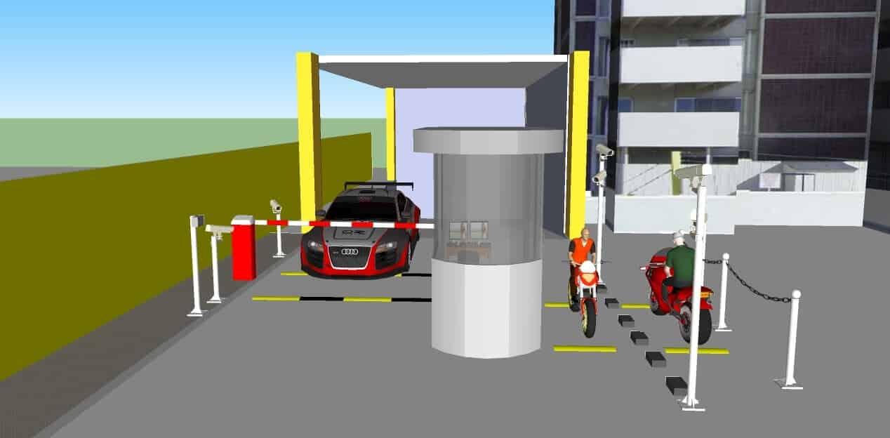 Giải pháp quản lý bãi đỗ xe thông minh