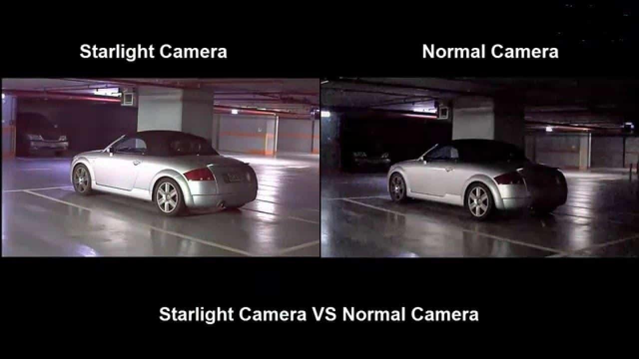 Công nghệ camera Starlight