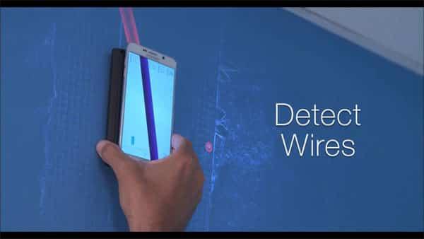 thiết bị giúp điện thoại giúp nhìn xuyên tường