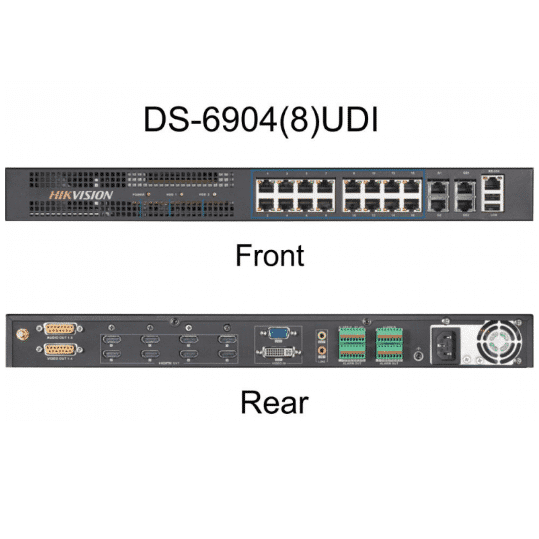 Bộ chia hình camera IP HIKVISION DS-6908UDI