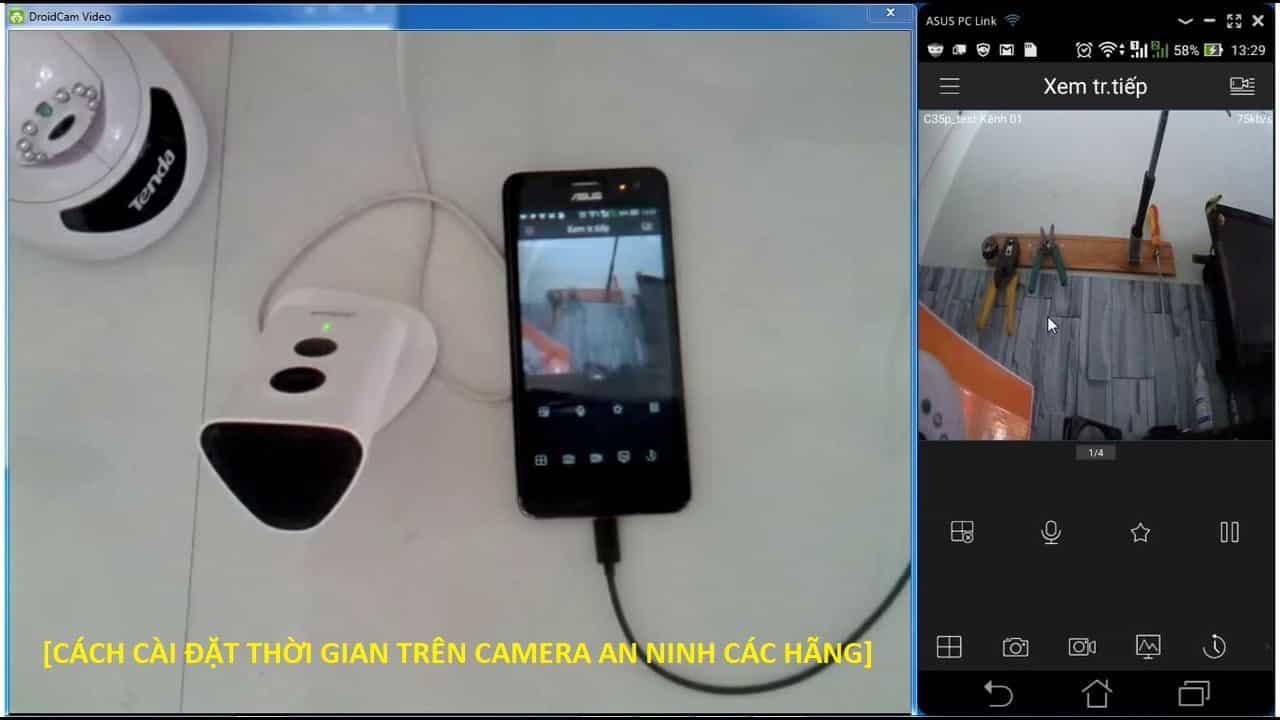 Cách CÀI ĐẶT THỜI GIAN trên camera CÁC HÃNG