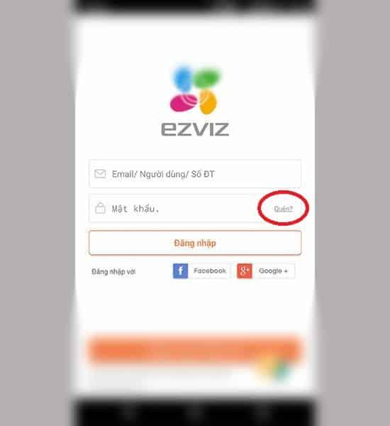 Cách lấy lại mật khẩu Camera Ezviz