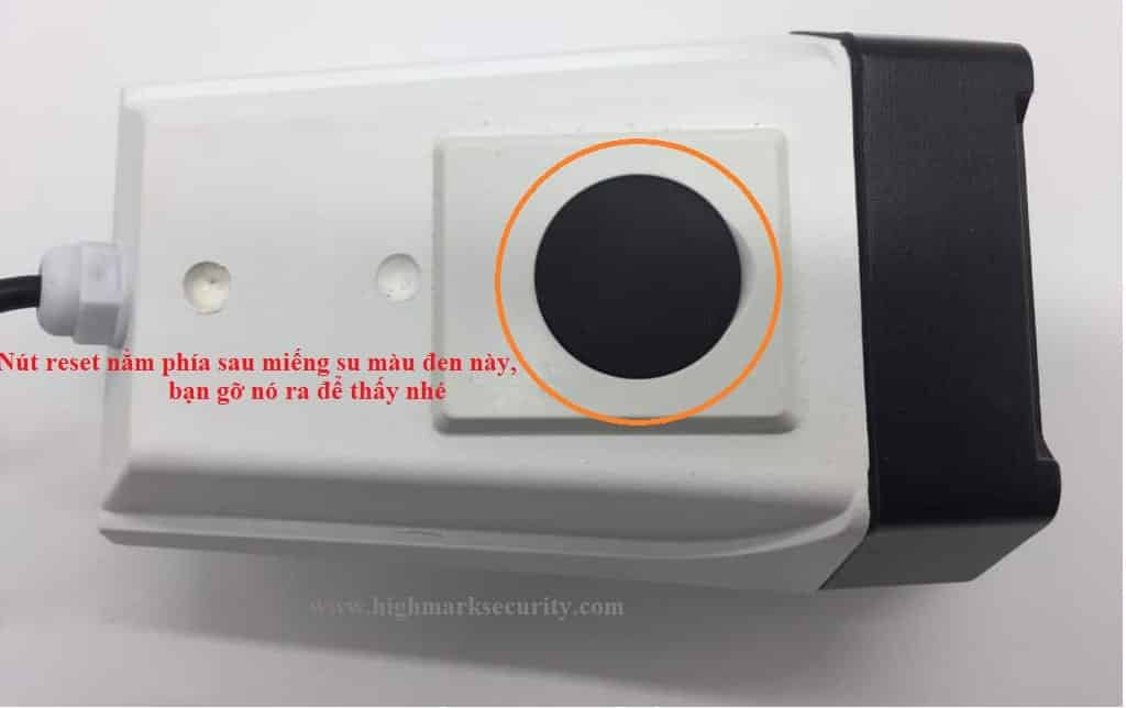 Cách reset camera Yoosee ngoài trời