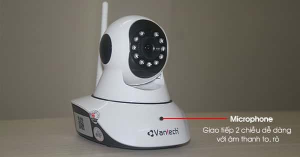 Camera Vantech có ghi âm không