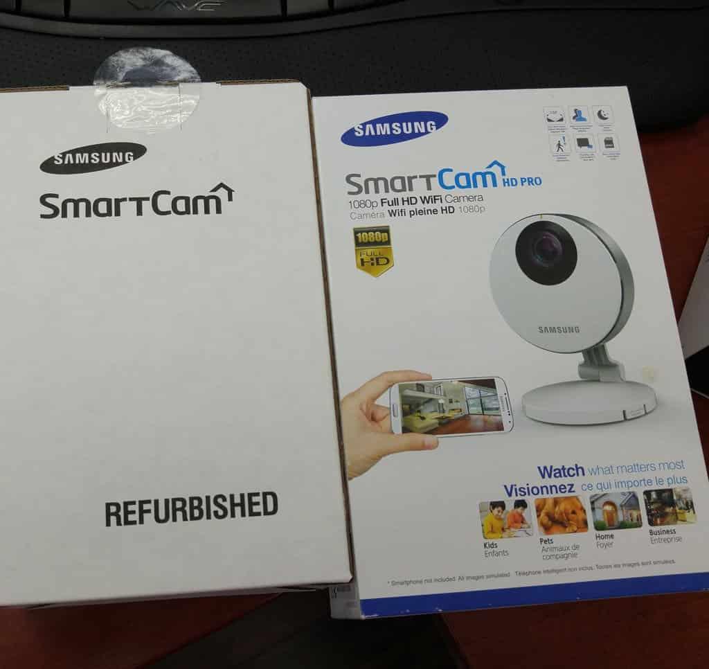 Camera chống trộm Samsung