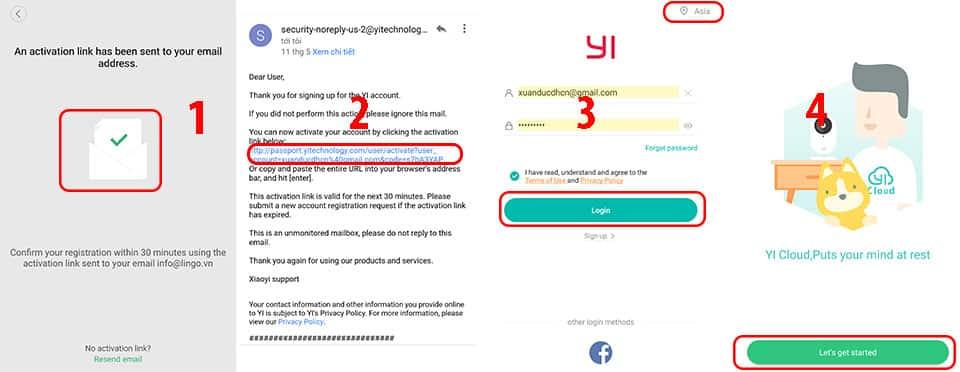 Kích hoạt email đăng ký