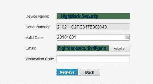 Nhập mã xác nhận đã được gửi qua email