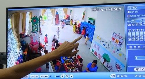 Xem lại camera ở trường qua Tivi
