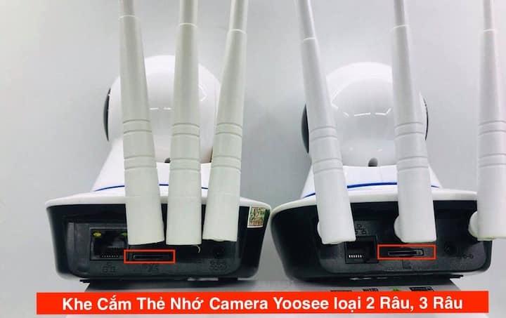 Cách Lắp Thẻ Nhớ Camera Yoosee, KHE CẮM THẺ NHỚ CAMERA YOOSEE