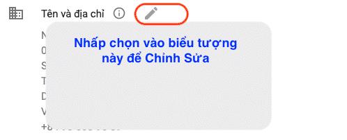 Chọn mục Tên và Địa chỉ trong Google AdSense