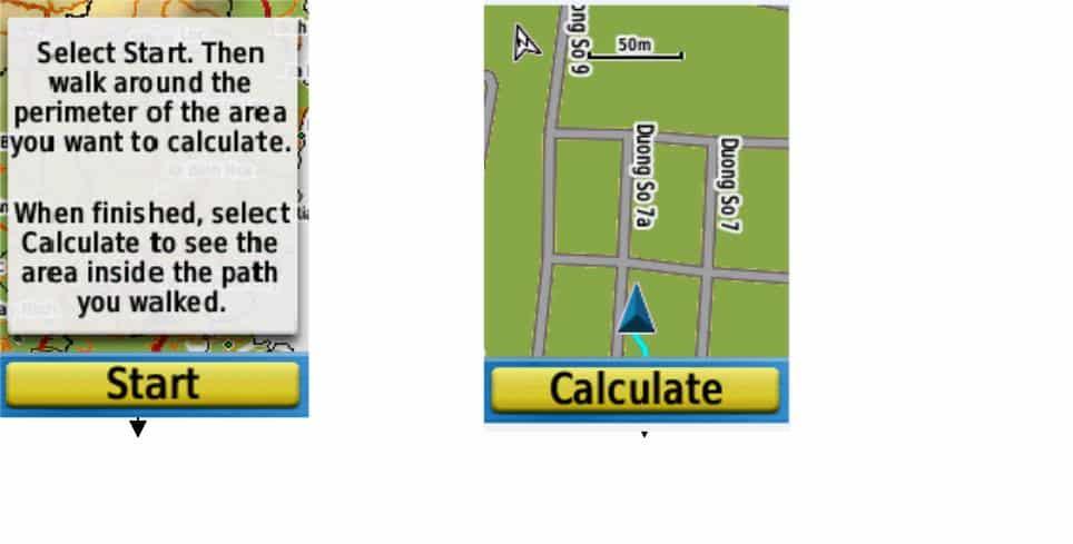 Hướng dẫn cách đo diện tích GPS cầm tay