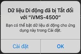 Lỗi Đăng Nhập Do Không có kết nối mạng