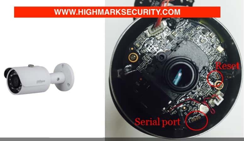 Vị trí Camera IP Dahua thân DS2230FIP