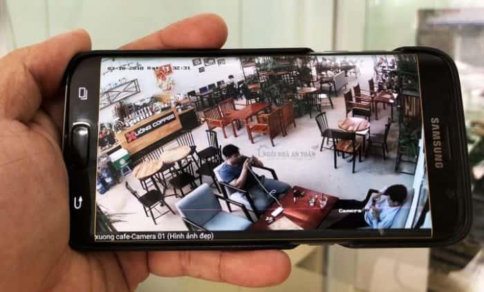 Xem Camera Trên Điện Thoại