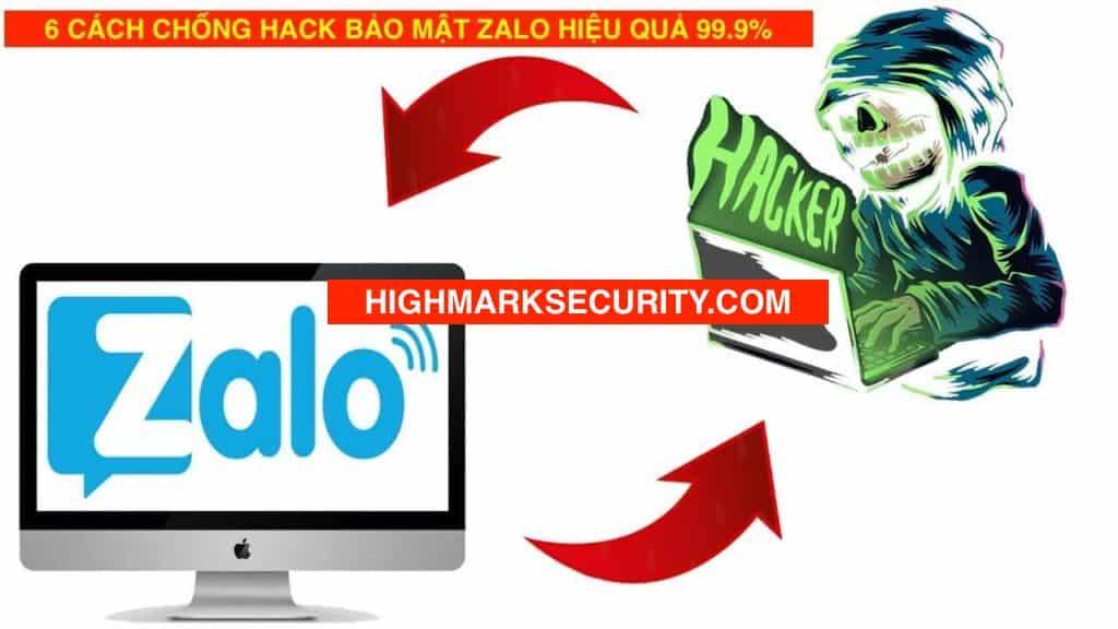 Cách Chống Hack Zalo Đọc Trộm Tin Nhắn Zalo